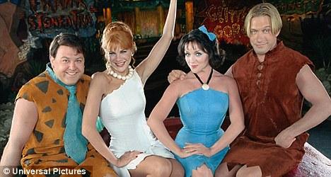 Meet the Flintstones: Johnston starred in 2000 prequel film Viva Rock Vegas