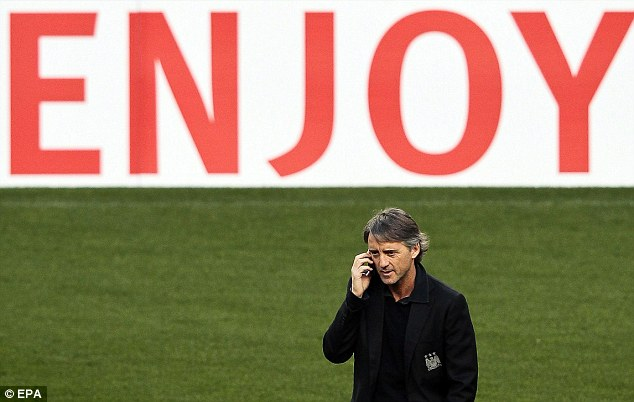 League of their own: Roberto Mancini insists he will not be underestimating Spirting