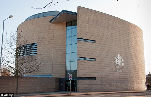 Conviction: A jury at Cambridge Crown Court (pictured) took less than two hours to unanimously find Jordan guilty