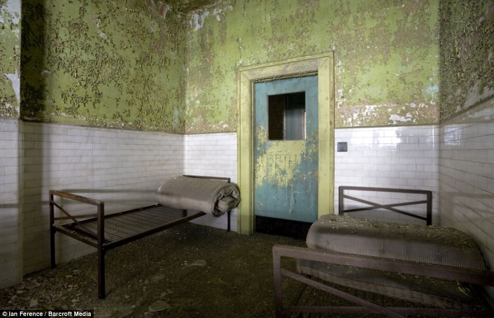 History: This is one of the very few private rooms on the entire complex. It was most recently used to contain German POWs during Second World War