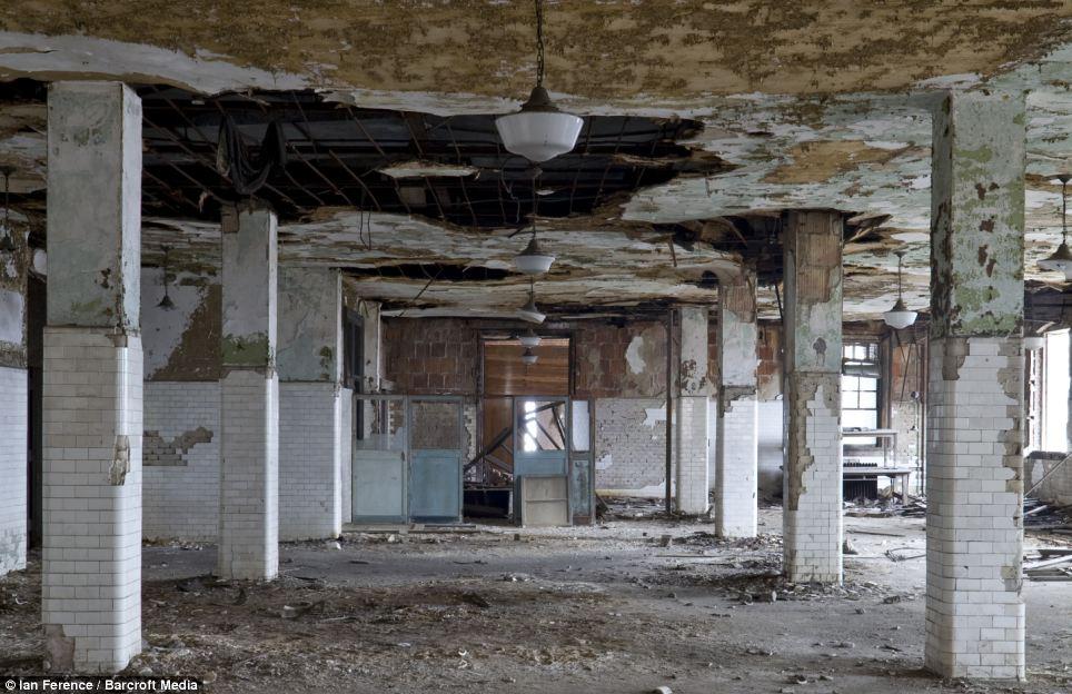 dormitory in Ellis Island hospital