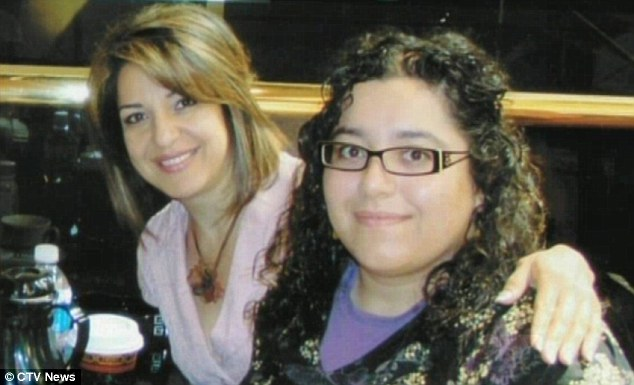 Family: Saloumeh (with Fariba) added that her sister was going to break up with Golshani if the trip did not go well