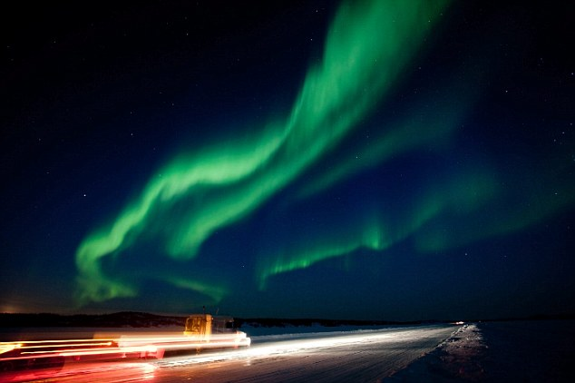 Yellowknife in Australia's North West Territories is situated directly under the auroral 'oval', has some of the best southern lights viewing in the world