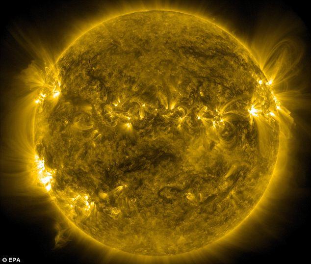 Action hotting up: Activity on the sun will peak next year