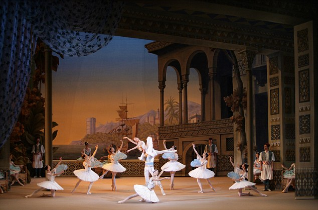 Le Corsaire at the Bolshoi
