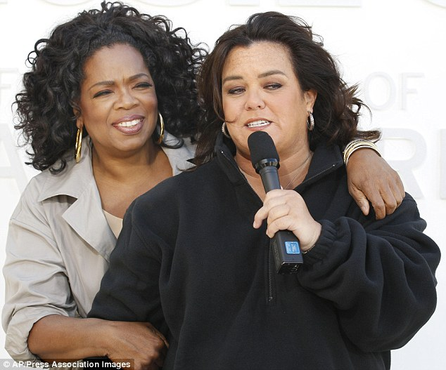 Still as close? If rumours of the Rosie's run-in's with Oprah's company are true it is unlikely she is still as friendly