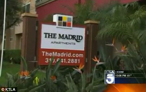 Home: Miriah Cobbs lived in the Madrid Apartment complex in Westchester, a division of Los Angeles