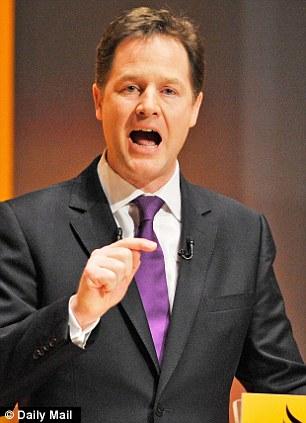 Europhile: Nick Clegg