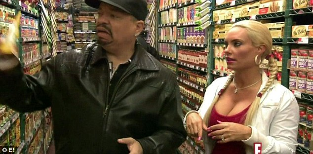 What is this? But Coco's husband Ice was less than impressed with the new healthy eating regime