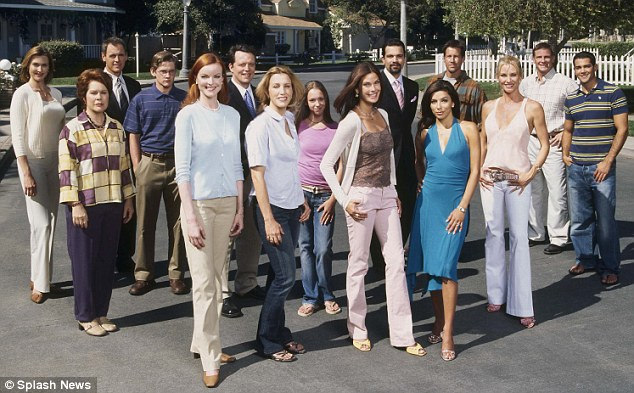 Wisteria Lane drama: Denton's character has been in the hit ABC show since the first season