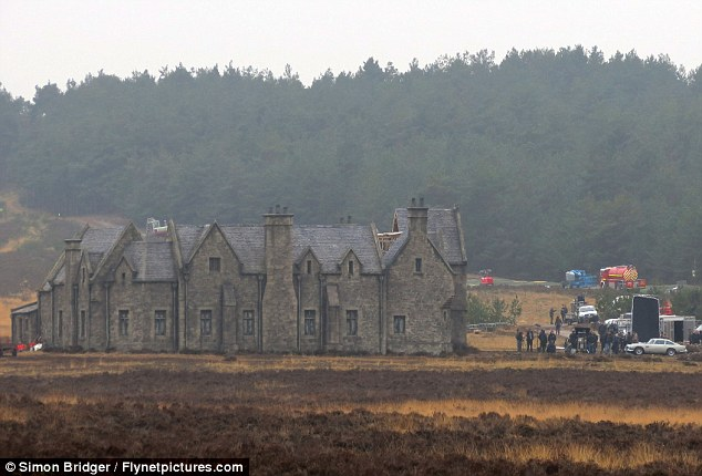 Historical significance? The large lodge is supposed to be in Scotland and has a strong connection with James Bond's past
