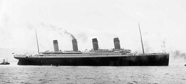 Disaster: The RMS Titanic sank in the Atlantic Ocean on April 15, 2012, killing about 1,500 people