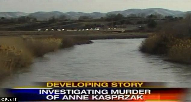 Scene: Her bruised and battered body was found on the edge of the Jordan River