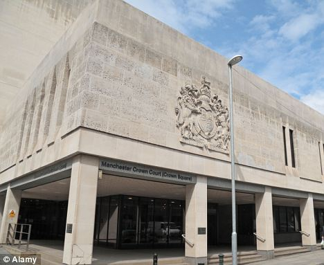 No further action: The Crown Prosecution Service formally dropped the case at a Manchester Crown Court hearing earlier this week