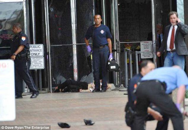 Texas courthouse shooting