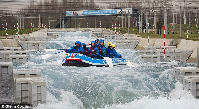 Riding the waves: Lee Valley White Water Centre has been open to the public since 2011
