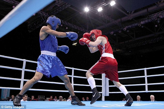 Boxing clever: The ExCel Centre will host a range of sports including boxing, fencing and judo