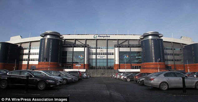 Lonesome: Hampden Park will be Scotland's only venue for the London 2012 Olympics
