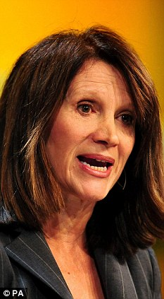 A done deal: Equalities Minister Lynne Featherstone