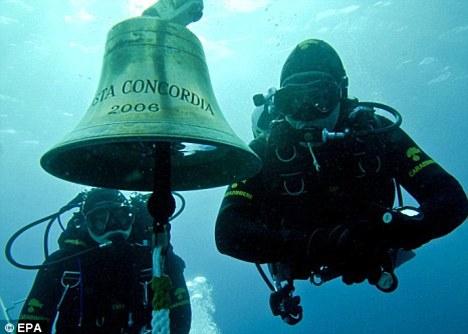 The Costa Concordia's bell