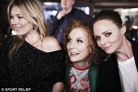 Fashion darling! Jennifer is joined by Kate Moss and Stella McCartney