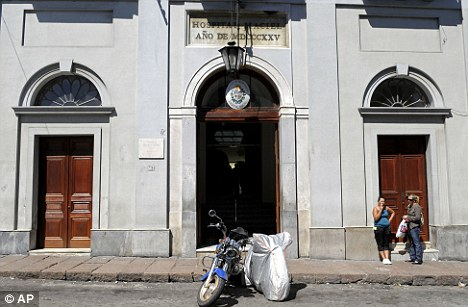 Uruguayan police dozens of patients may have been killed at cardiology unit of the Maciel Hospital, pictured