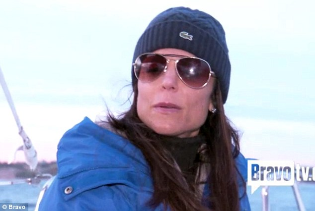 Trouble in paradise: Bethenny Frankel admits her marriage is 'off course' during a sailing trip on her reality show