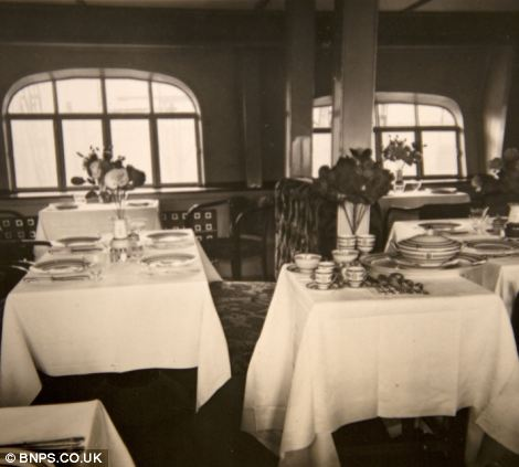 Luxury dining on the 'Ocean liners of the skies'