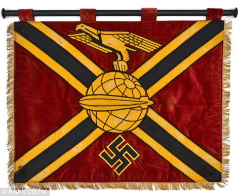 A Nazi banner for the airship command