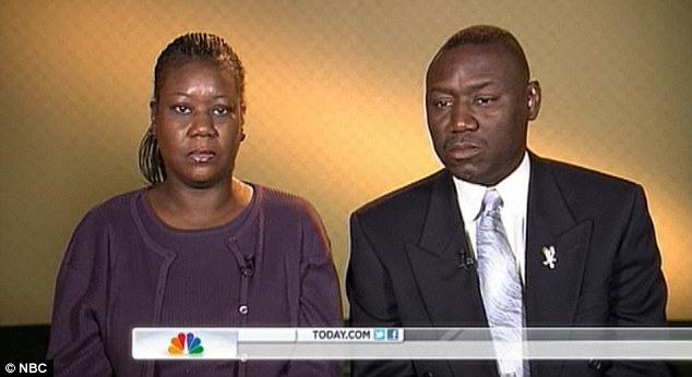 Unprovoked: The parents of slain teen Trayvon Martin said the attack was motivated because of 'the colour of his skin' and nothing more