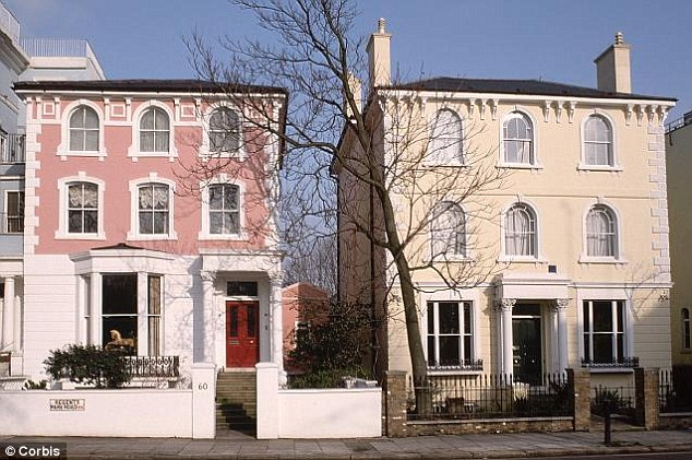 New rate: Homes such as these will be subject to the new rate. The move comes just 12 months after the introduction of a 5 per cent band on homes bought for more than £1m