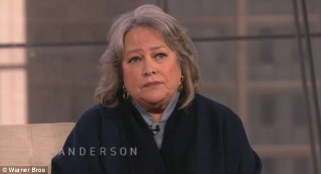 Secret sickness: Kathy Bates will final reveal why she kept her ovarian cancer a secret on Anderson Cooper's talk show Thursday