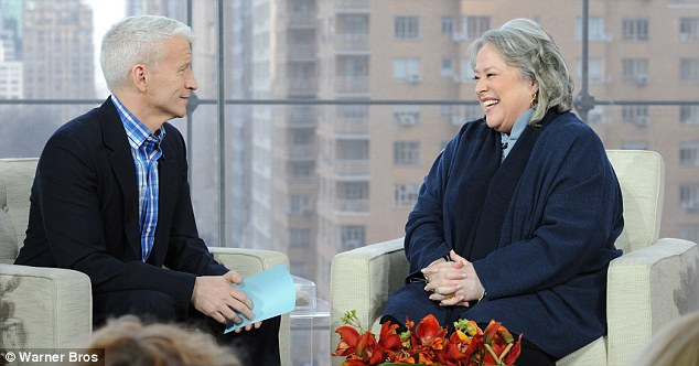 The big reveal: Bates tells all the silver fox Anderson Cooper
