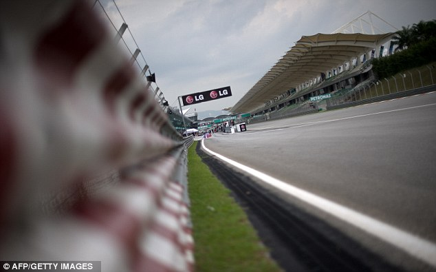 Track view: Sepang International Circuit