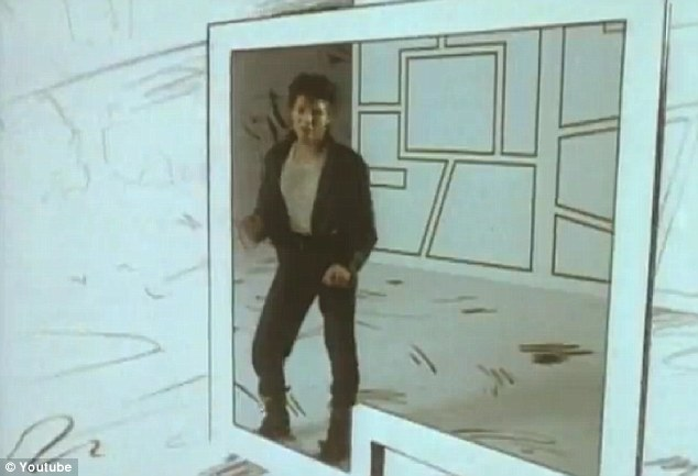 The real thing: Morten Harket from A-Ha in the video for Take On Me, which was considered to be pioneering at the time