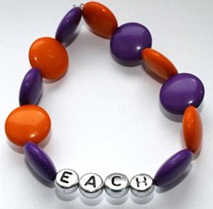 Proceeds raised form the sale of the £10 bracelets will go to East Anglia's Children's Hospices (EACH) which supports children and young people with life-threatening conditions