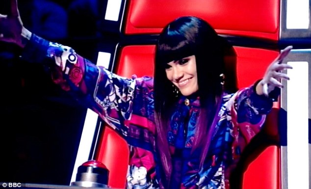 So current: Jessie J was quick to use her recent number ones as an excuse to be chosen