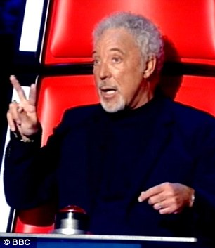 Do you know who I've worked with? Tom Jones (L) spoke about Elvis Presley while will.i.am spoke of his time working with Michael Jackson