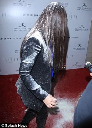 Kim Kardashian gets Flour Bombed
