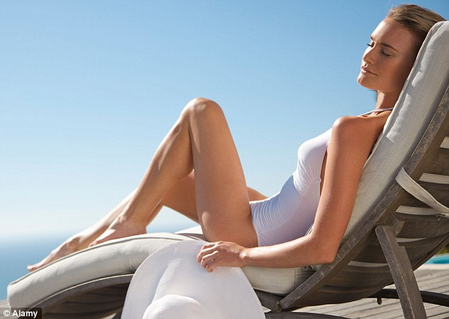 Around 90 per cent of our vitamin D is made in the skin with the help of sunlight - this converts the cholesterol found in every cell in the body into vitamin D