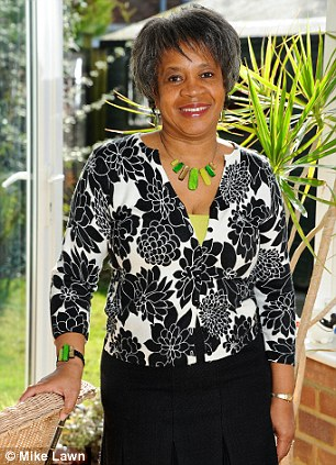 'I didn't realise having darker skin would increase my risk (vitamin D levels),' said Sandra Webb