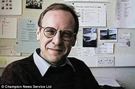 Filed for divorce: University of Northampton's assistant dean Alan Rae