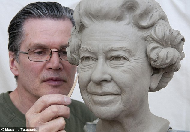 The Queen's new waxwork at Madame Tussauds ahead of Diamond Jubilee