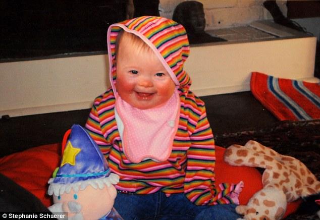 Mimi at nine months