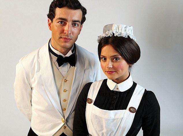 Jenna as Annie Desmond and Glen Blackhall who plays Paolo Sandrini