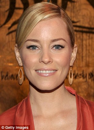 Ageing gracefully: Elizabeth Banks looks as fresh-faced now as she did as a teenager back in high school