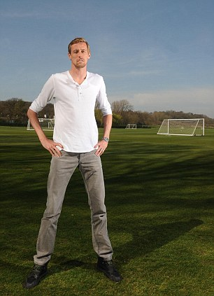 Records: Crouch has 151 goals in 485 games for his clubs and 22 in 42 for England