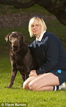 Donna Maudsley and Samson are waiting for a ruling