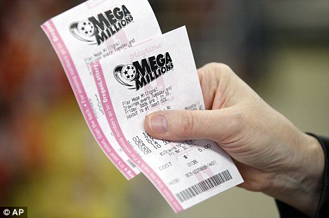 Winning: The odds of winning this week's jackpot were 176 million to one