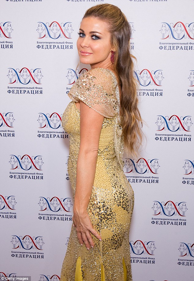 Back to what she does best: Carmen Electra has moved on from Britain's Got Talent, where she received critical comments about her stand-in appearance as judge